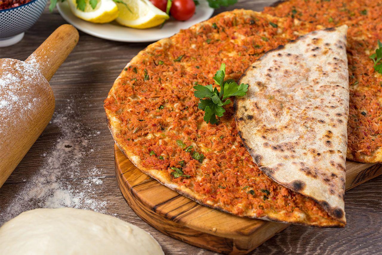 Lahmacun, ¡la pizza turca tradicional! - Receta original