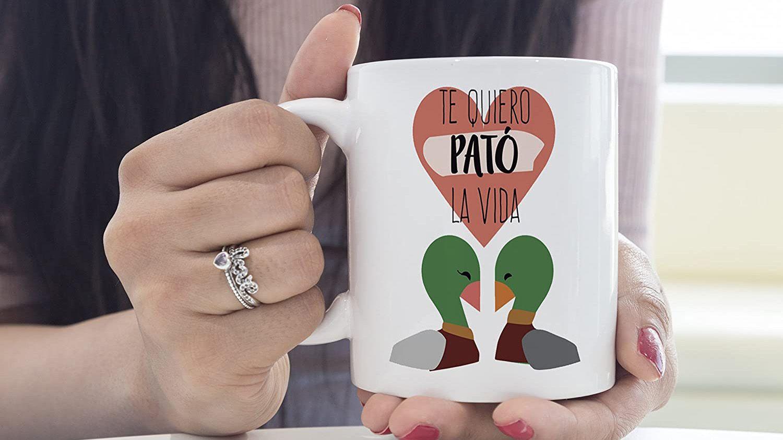 Regalo original para san valentin taza