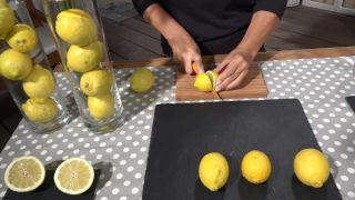 Tips para dejar de fumar y limpiar las vías respiratorias - Medio limón