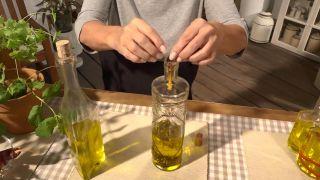 Truco para aromatizar el aceite de oliva - Setas