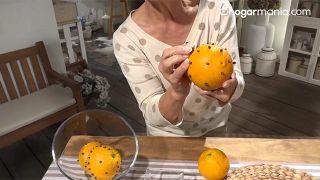 Aromaterapia: 2 sencillos trucos con los que dar al hogar un aroma rico y saludable - Clavos de especia y naranja