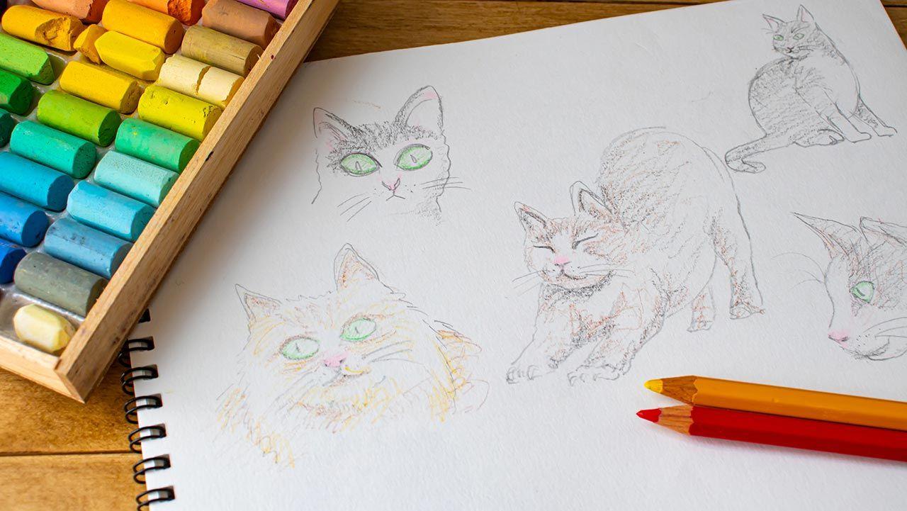 Ideas para que tus dibujos te gusten más