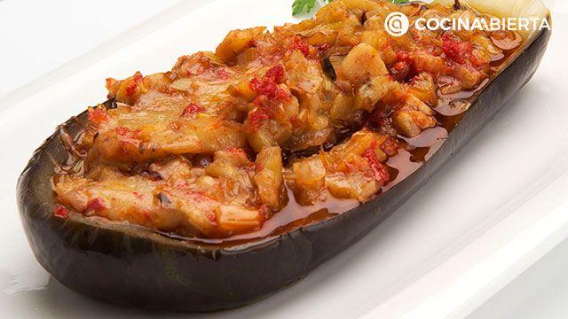 Receta de berenjenas rellenas de carne picada de Karlos Arguiñano