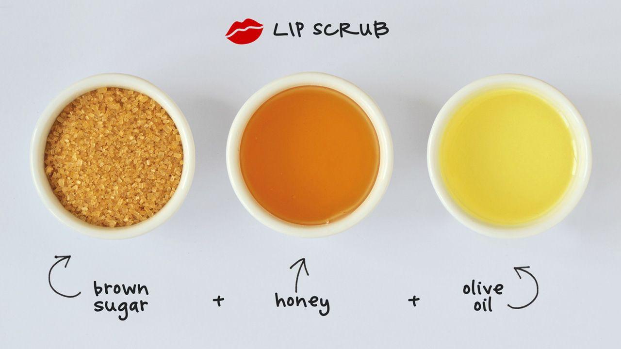 Cómo exfoliar los labios con azúcar y miel