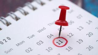 Cómo quitar el chupete al bebé - Marcar la fecha en el calendario