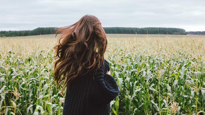 ¿Cuánto crece el pelo en un mes? - Pelo largo y suelto