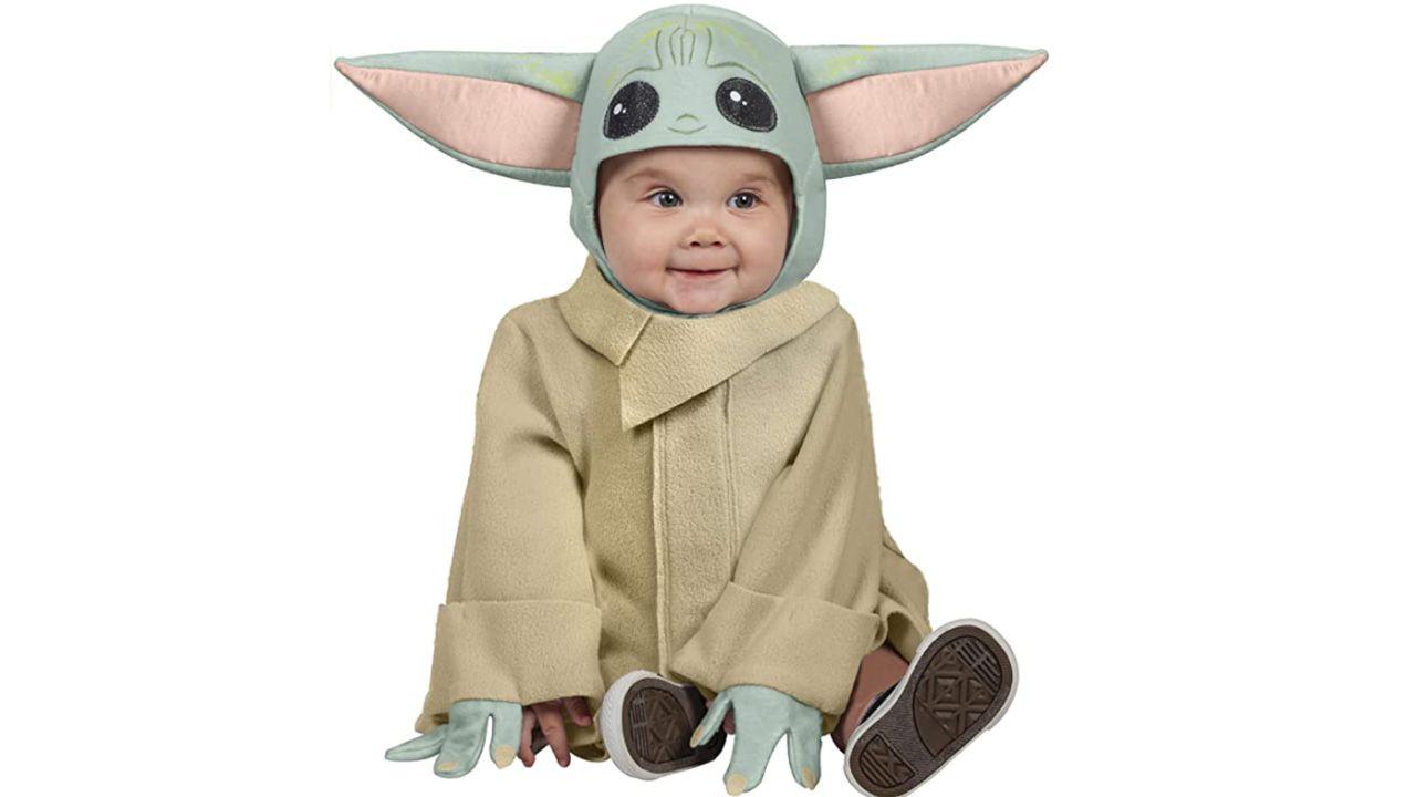 Disfraz para bebé de baby Yoda
