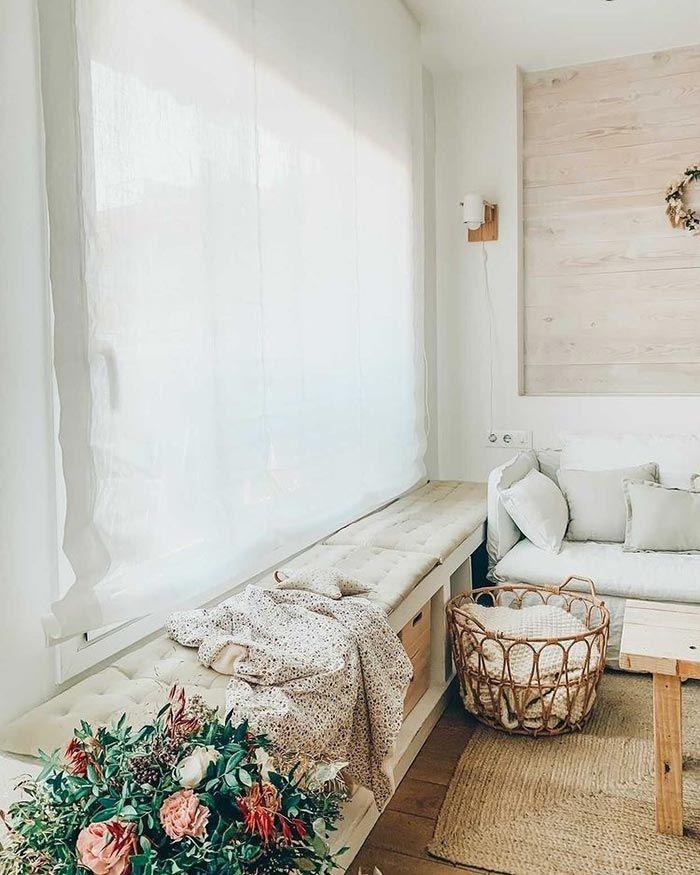 Lino, ¡el tejido natural de moda para vestir las ventanas!