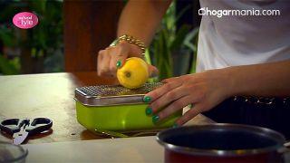 Exfoliante corporal de melisa y limón para eliminar el sebo y las imperfecciones - Rayar el limón