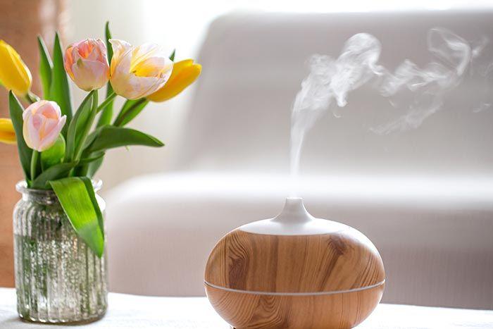 Humidificador para regular la humedad en casa