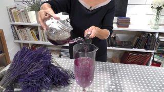 Cómo hacer limonada de lavanda - Infusión de lavanda