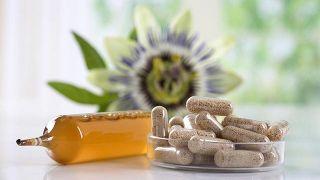 Pasionaria, planta medicinal sedante e hipotensora - Cápsulas