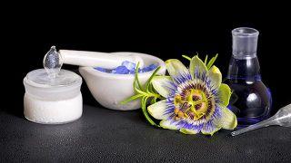 Pasionaria, planta medicinal sedante e hipotensora - Tintura