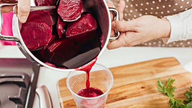 Cómo hacer colorante natural de remolacha