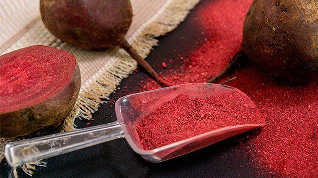 Cómo hacer colorante natural de remolacha en polvo
