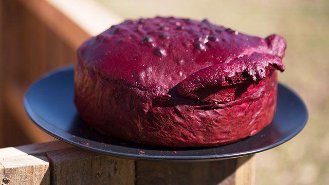 Postres Red Velvet, ¡con colorante natural de remolacha!  - Tartas