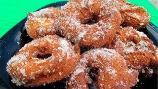Rollos fritos de Semana Santa