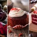 Postres Red Velvet, ¡con colorante natural de remolacha!