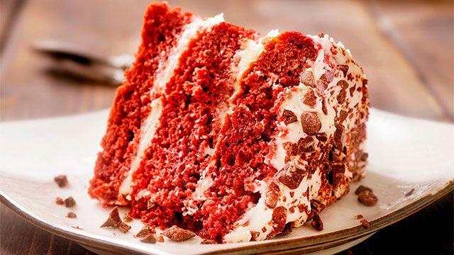 Postres Red Velvet, ¡con colorante natural de remolacha! - tarta red velvet