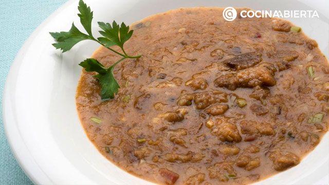 Recetas típicas de Semana Santa y Pascua - Sopa de ajo