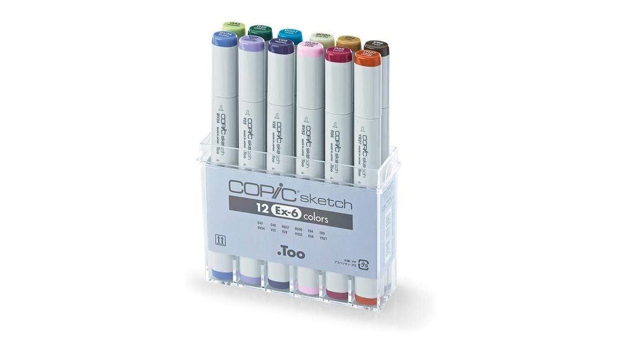 Copic Sketch Juego 12 colores
