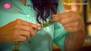 Sahumerio de plantas silvestres - Paso 3