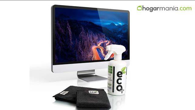 Cómo limpiar la pantalla de un televisor, tablet, móvil y portátil
