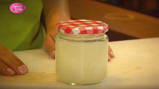 Crema de áloe vera y laurel para después del afeitado - Paso 6