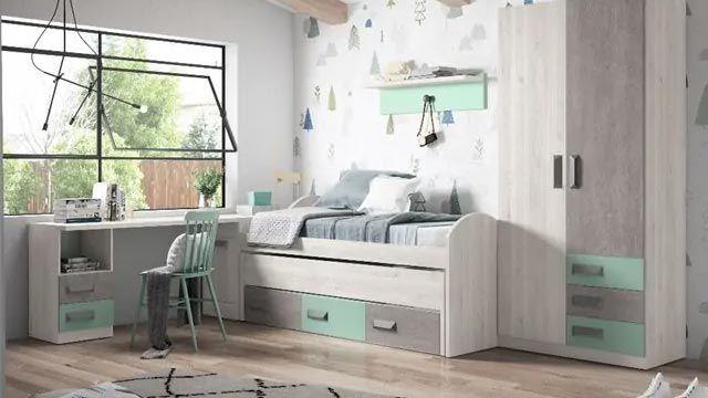 Dormitorio preadolescente de Conforama