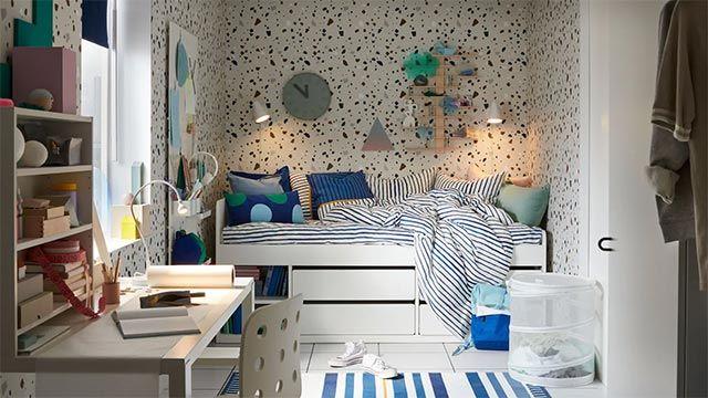 Dormitorio para preadolescentes de Ikea
