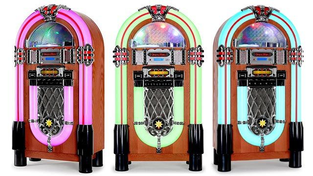 AUNA Graceland XXL Jukebox Vintage