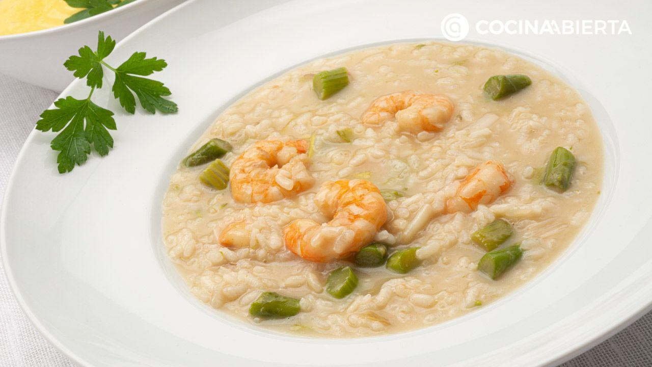 arroz caldoso con verduras