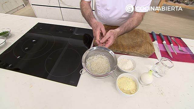 Tortillitas de bacalao - Paso 1