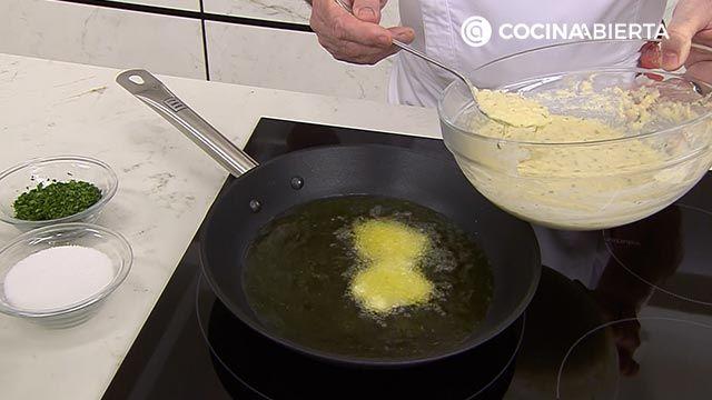 Tortillitas de bacalao - Paso 3