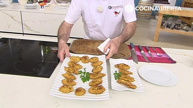 Tortillitas de bacalao - Paso 4