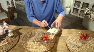 Mascarilla exfoliante casera de yogur y fresas - Yogur