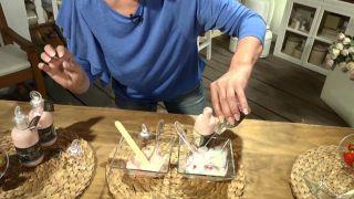 Mascarilla exfoliante casera de yogur y fresas - Aceite de rosa mosqueta