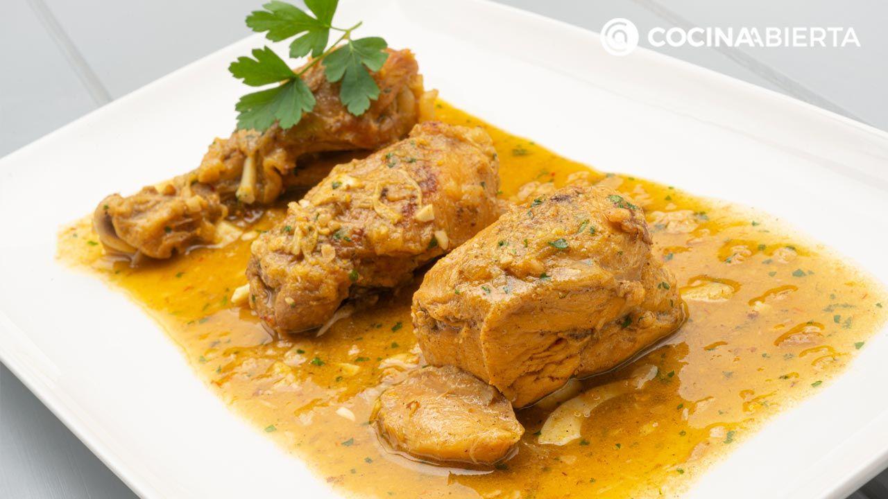 Pollo En Pepitoria La Receta Tradicional De Karlos Arguiñano