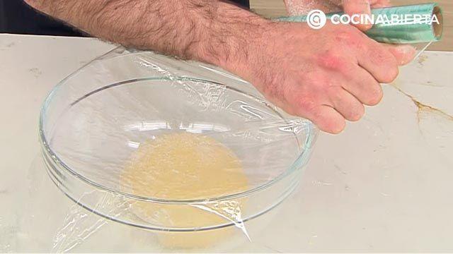 Donuts caseros fáciles, la receta auténtica de Joseba Arguiñano - paso 2
