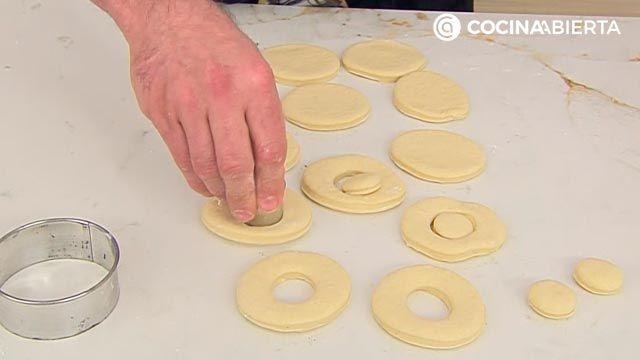Donuts caseros fáciles, la receta auténtica de Joseba Arguiñano - paso 3