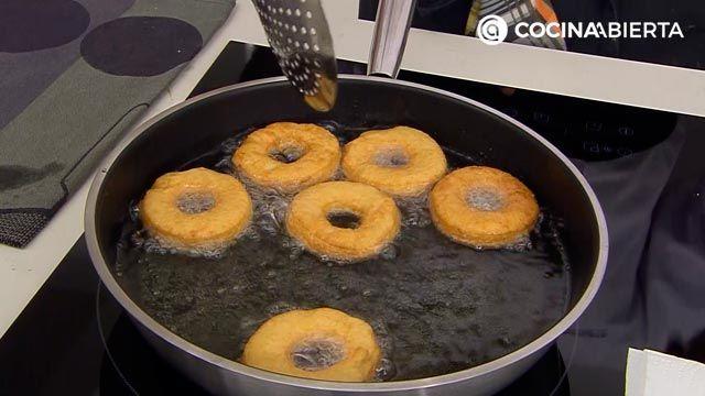 Donuts caseros fáciles, la receta auténtica de Joseba Arguiñano - paso 5