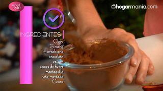 Cómo hacer trufas de chocolate con plantas medicinales (chocolate, ginseng y menta) - Ingredientes