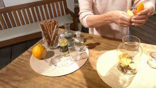 Aromaterapia: Cómo hacer un ambientador de mikado casero - Naranja