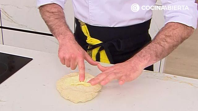 Baozi (relleno de txistorra) por Joseba Arguiñano, ¡el popular pan asiático al vapor! - paso 3