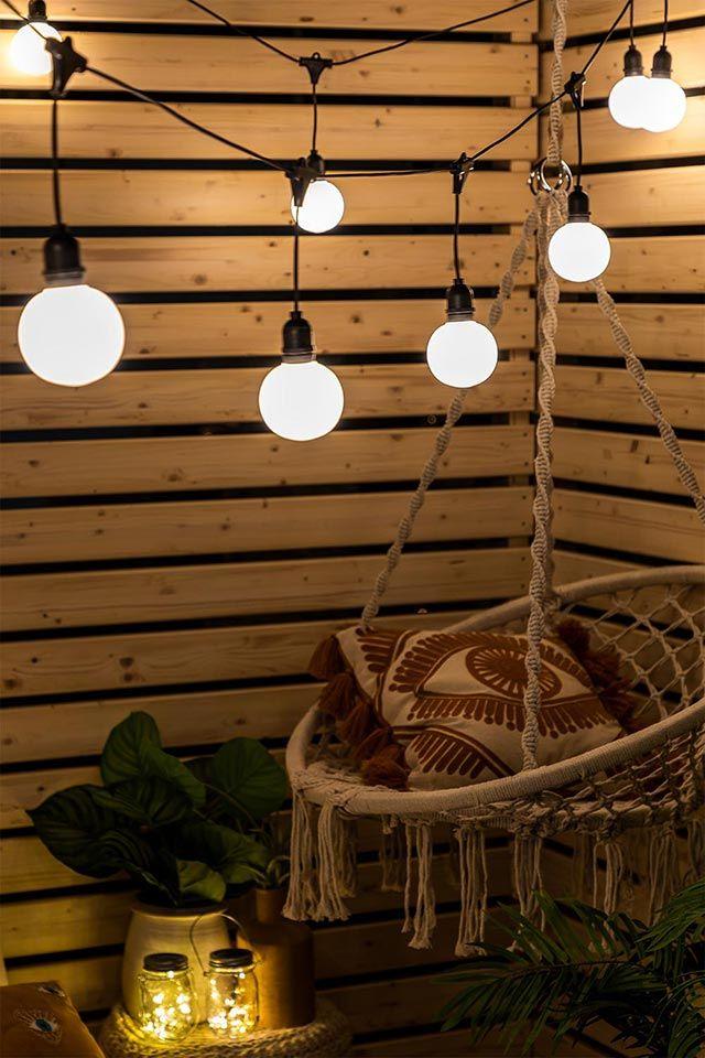 Guirnaldas de luces para el jardín de Sklum