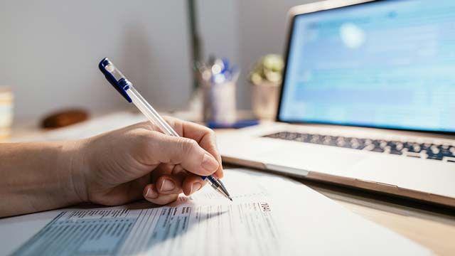 Cómo descargar el borrador de la declaración de la renta por Internet