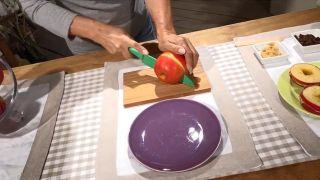 Cómo preparar un almuerzo saludable - Manzana