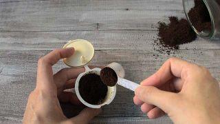 Capsulas de café que son reutilizables o recargables