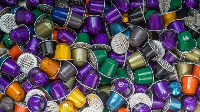 Cómo reciclar las cápsulas de café: contenedor