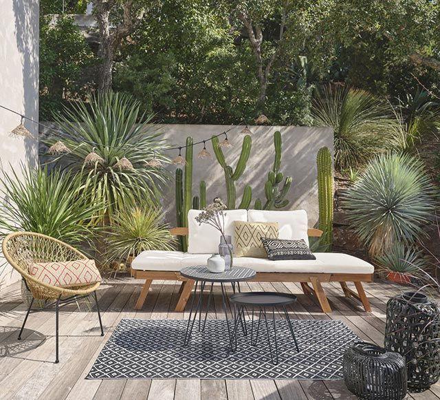 Sofá de jardín Relax de Maisons Du Monde